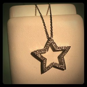Jewelry - *BRAND NEW IN BOX* .25 CT. TW. Star Necklace